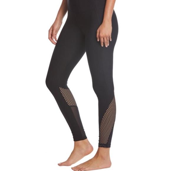 Jordan Blurred Black Yoga Leggings